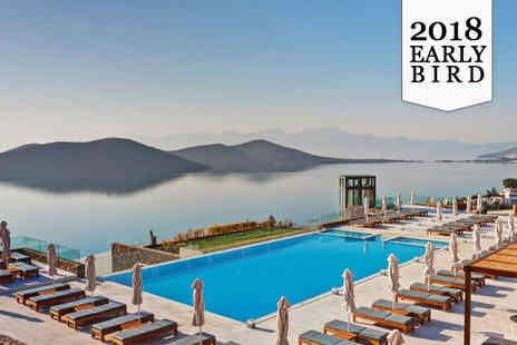 Royal Marmin Bay Boutique & Art Hotel - Five Star Adults Only Property in Upmarket Elounda - Save 49%