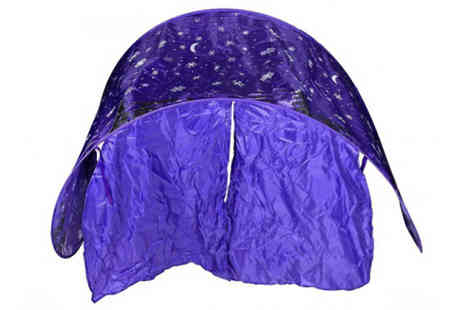 Bazaar me - Foldable Dream Space Tent - Save 75%