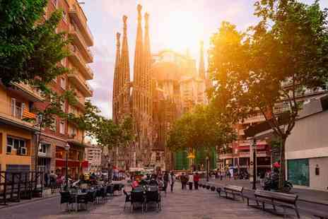 Tour Center - Two, three or four night Barcelona break with flights - Save 36%