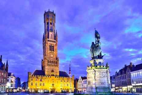 Weekender Breaks - One, two or three night Bruges break including return Eurostar and Choco Story Tour - Save 0%