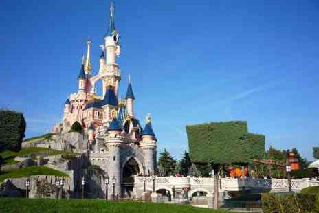 Tour Center - Two night Disneyland Paris stay with flights, shuttle park transfers and one day two park entry - Save 29%