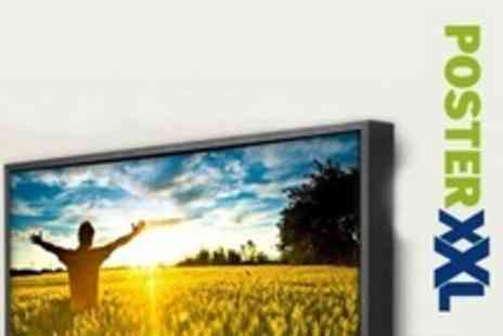 posterXXL - Personalised Photo Canvas of 40cm x 60cm - Save 73%