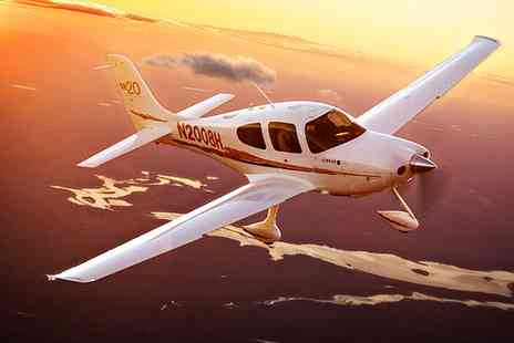 Adventure 001 - Two Hour Aeroplane Flying Lesson for One or Two - Save 52%