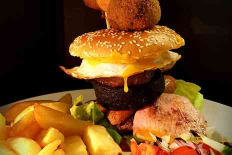 Telford Arms - Choice of Burger with Steak Cut Chips for Up to Four - Save 39%