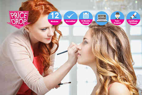 Trendimi - Online makeup artist course or online how to become a freelance makeup artist learning programme - Save 93%