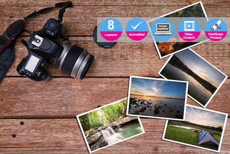 Live Academy Education - Accredited photography masterclass diploma - Save 96%