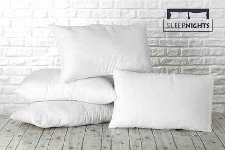 Better Dreams - 4 soft touch pillows - Save 74%
