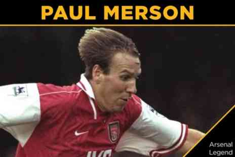 Mr Kyps - An Evening with Paul Merson Entry for One or Two on 6 December - Save 40%