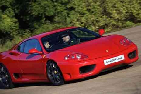 Ferrari 360 F1 - Six Lap Junior Ferrari Driving Experience for One or Two - Save 62%