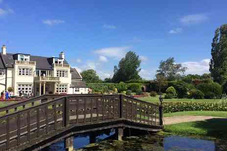 Rookery Manor Hotel & Spa - One or Two Nights Stay for 2 with Breakfast, Dinner, Prosecco, and optional Spa Credit - Save 49%