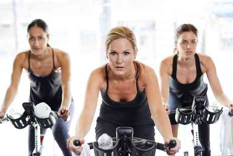 The Pilates Rooms - 8 or 13 Indoor Cycling Classes - Save 51%