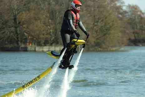 Flyboard Fun - Christmas Gift Voucher for Waterbiking Experience, One or Two people - Save 31%