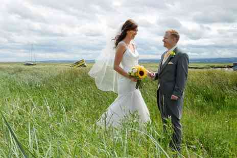 Wirral Photography & Arts - Full Day Wedding Photography Package and Photo Book - Save 49%