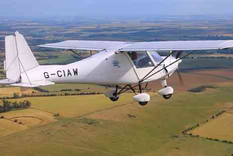 GS Aviation - Flying Lesson with 30 Minutes of Flight Time - Save 0%