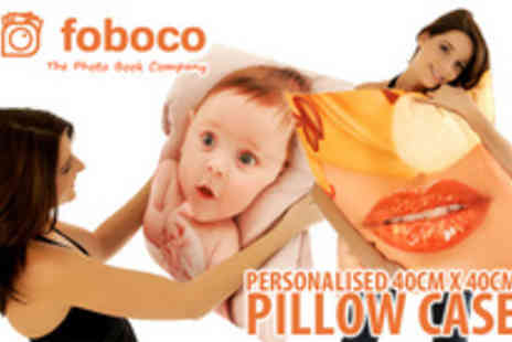 Foboco - A personalised printed pillow case made - Save 70%