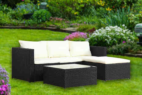 Evre - 5pc malaga rattan corner sofa - Save 69%