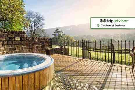 Losehill House Hotel and Spa - One or two night Peak District spa stay for two with use of spa facilities, a seven course menu and glass of Prosecco each - Save 37%