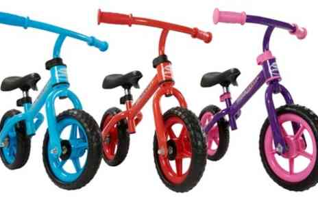 Groupon Goods Global GmbH - My Play Rocket Ride on Balance Bike in Choice of Colour - Save 54%