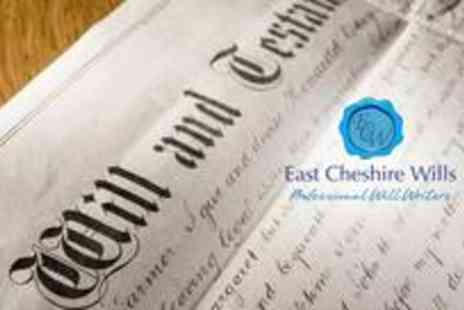 East Cheshire Wills - Double will - Save 86%