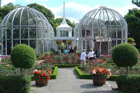 The Birmingham Botanical Gardens - Entry and Afternoon Tea for Two or Four - Save 45%