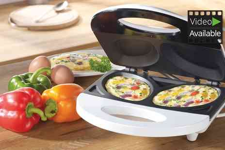Groupon Goods - Cooks Professional Multifunction Omelette Maker - Save 63%