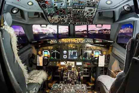 Sim 2 do - 60 or 90 Minute Boeing 737 Flight Simulator Experience - Save 51%