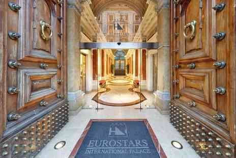 Eurostars International Palace - Four Star Neo Classical Palace Stay For Two in the Heart of the City - Save 80%