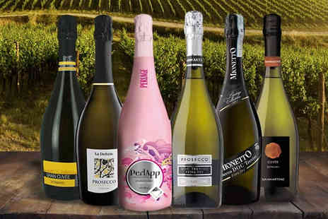 SanJamon - Italian Award winning Wineries 6 Bottle Collection - Save 26%