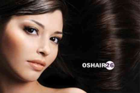 Oshair Hair & Beauty - Brazilian Blow Dry Treatment With Trim - Save 72%