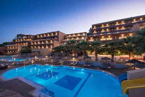 Bargain Late Holidays - Three night, all inclusive 4 Star Crete stay in a side seaview room with flights - Save 28%