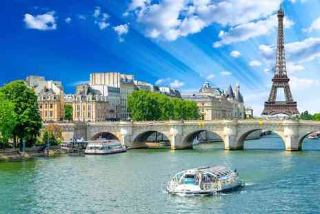 SuperBreak - Two night Paris break with return coach travel and River Seine cruise - Save 41%