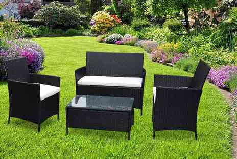 Evre - 4pc roma garden furniture set - Save 76%