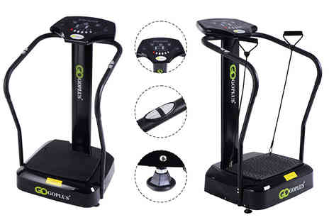 FDS Corporation - Massaging vibration plate gym machine - Save 53%
