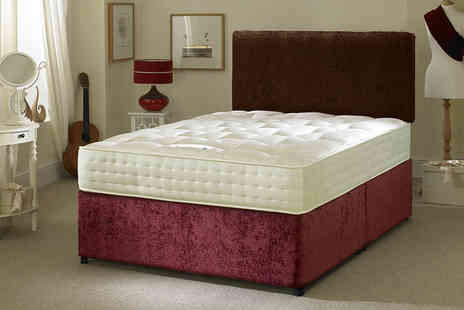 Midnight Dreams - Single, small double, double or king size pocket sprung mattress - Save 76%