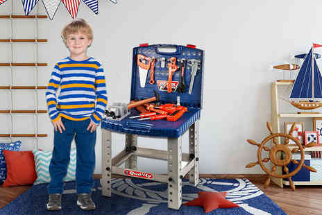 Who Needs Shops - Childrens toy work bench and tool kit - Save 79%