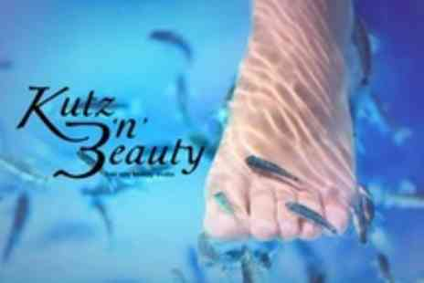 Kutz n Beauty - Fish Spa With Nail Shape and Polish - Save 59%