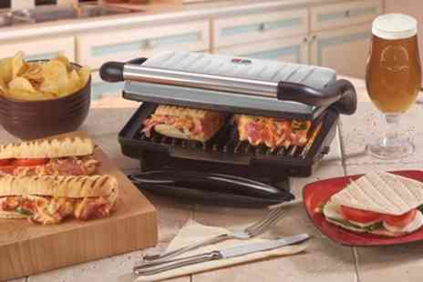 Groupon Goods Global GmbH - Cooks Professional Sandwich, Panini Press and Grill - Save 50%