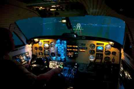 PTT Aviation - One Hour Flight Simulator Experience at Northumbria Flying School - Save 75%