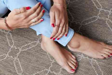Hot Tanning and Beauty - Gel or Deluxe Manicure, Pedicure or Both - Save 0%