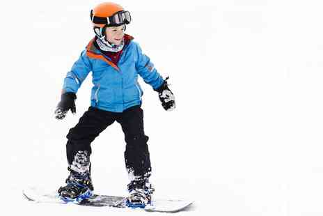Swadlincote Ski Centre - Snowboarding or Skiing Party Package for Children - Save 27%