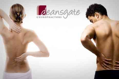 Deansgate Chiropractors - Consultation and Two Treatment Sessions - Save 72%