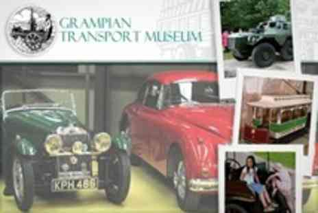 Grampian Transport Museum - Tickets For Two Adults and Up to Four Children - Save 61%