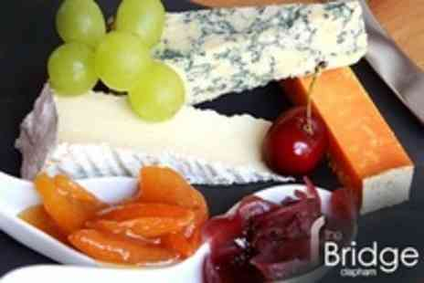 The Bridge - Wine and Cheese Tasting For Two - Save 59%