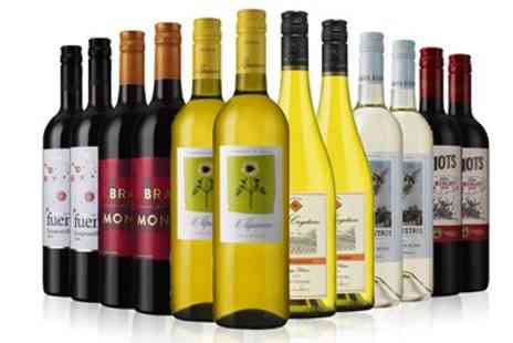 Direct Wines - 12 bottles of wine - Save 53%