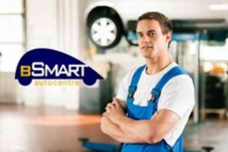Bsmart Autocentre - 54 Point Service With Oil and Filter Change Plus Gold Valet - Save 75%