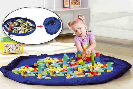 Zoozio - 2 in 1 toy storage bag and play mat - Save 59%