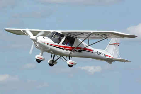 Durham Aerosports - 30 minute or 1 hour flight experience with a club membership - Save 31%