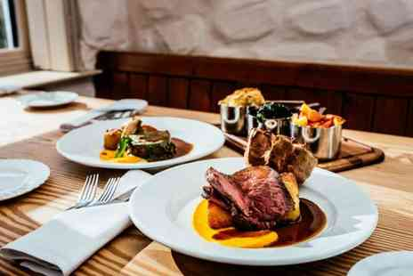 The Pelican - Three course dinner and bottle of house wine for two - Save 56%