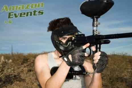 Amazon Events - Archery and Air Rifle Shooting Combo Plus Assault Course and Paintballing - Save 62%