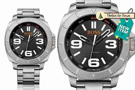 Class Watches - Hugo Boss Orange stainless steel watch with a limited number available - Save 65%
